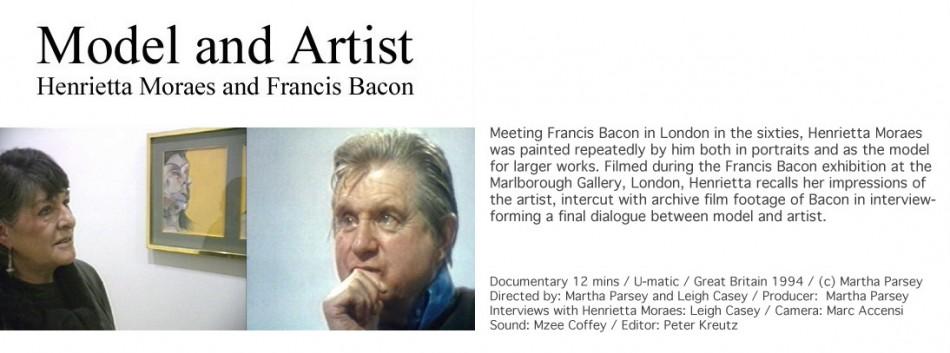 Henrietta Moraes and Francis Bacon