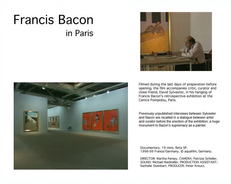 Francis Bacon in Paris
